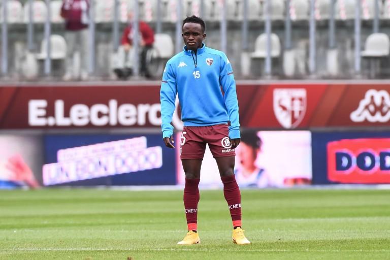 Cheikh Sabaly de nouveau prêté par le FC Metz