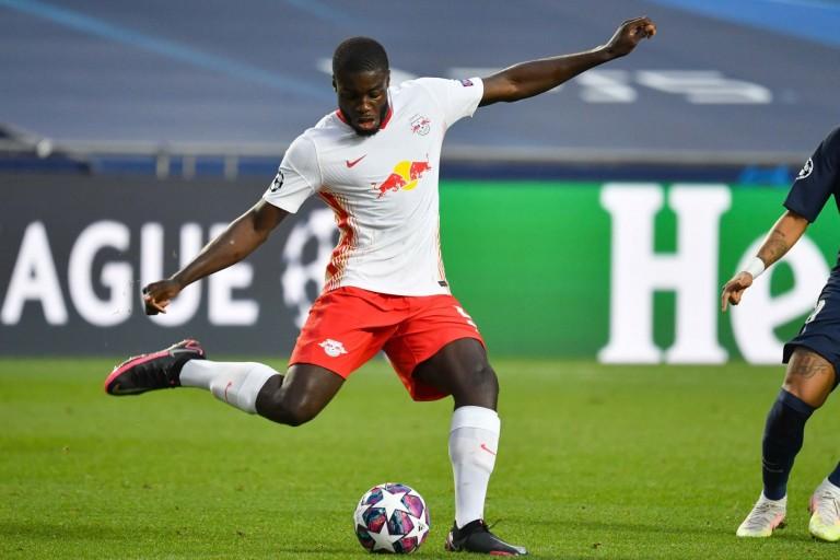 Dayot Upamecano, défenseur du RB Leipzig visé par le PSG