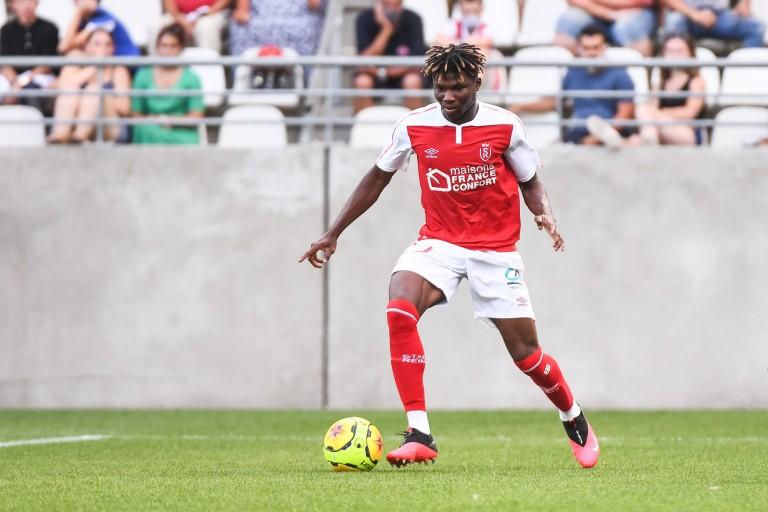 El Bilal Touré, attaquant du Stade de Reims visé par l'OM