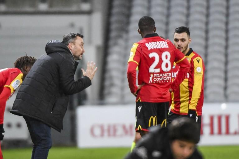 Franck Haise, entraineur du RC Lens