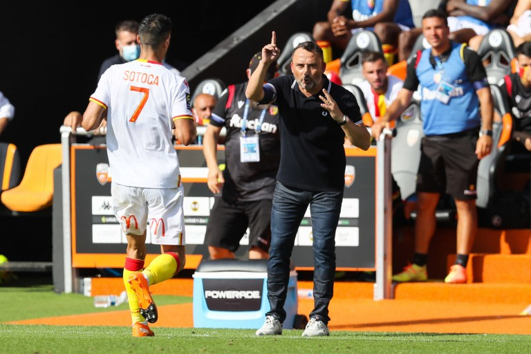 Franck Haise, coach du RC Lens