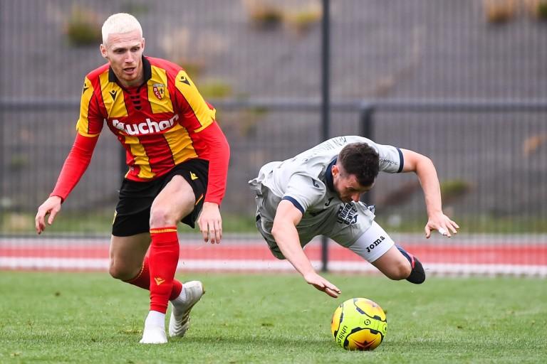 Gaëtan Robail, attaquant du RC Lens suivi par l'EA Guingamp