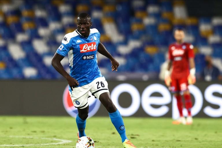 Kalidou Koulibaly, défenseur central de Naples visé par le PSG