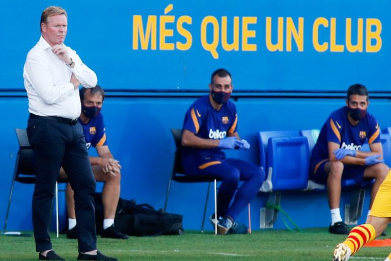 Barça : Pour Koeman, le départ de Luis Suarez n'a pas affecté le professionnalisme de Lionel Messi