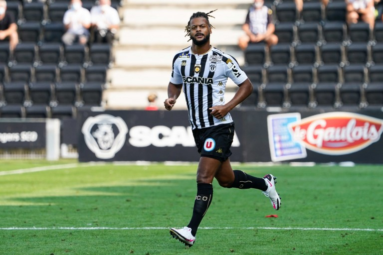Loïs Diony, attaquant d'Angers SCO
