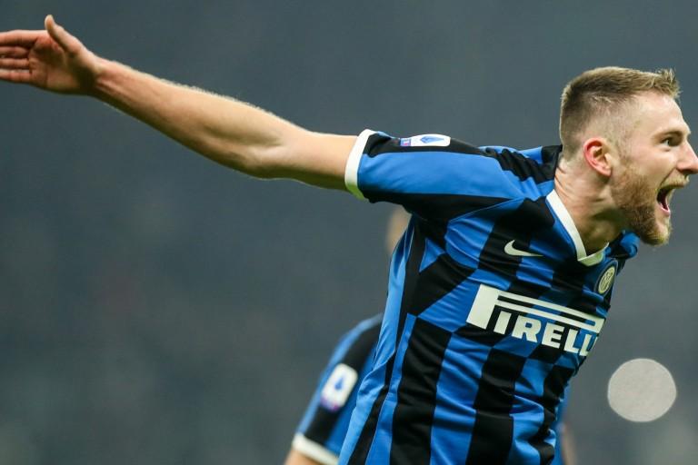 Milan Skriniar, défenseur de l'Inter Milan, visé par le PSG.