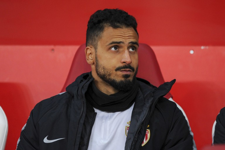 Nacer Chadli, milieu offensif de l'AS Monaco