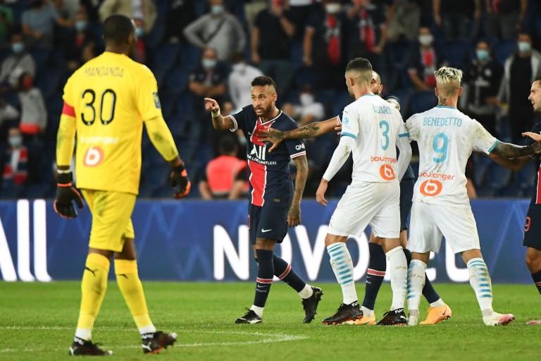 PSG-OM : Neymar est accusé d'avoir traité Hiroki Sakai de «Chinois de merde»