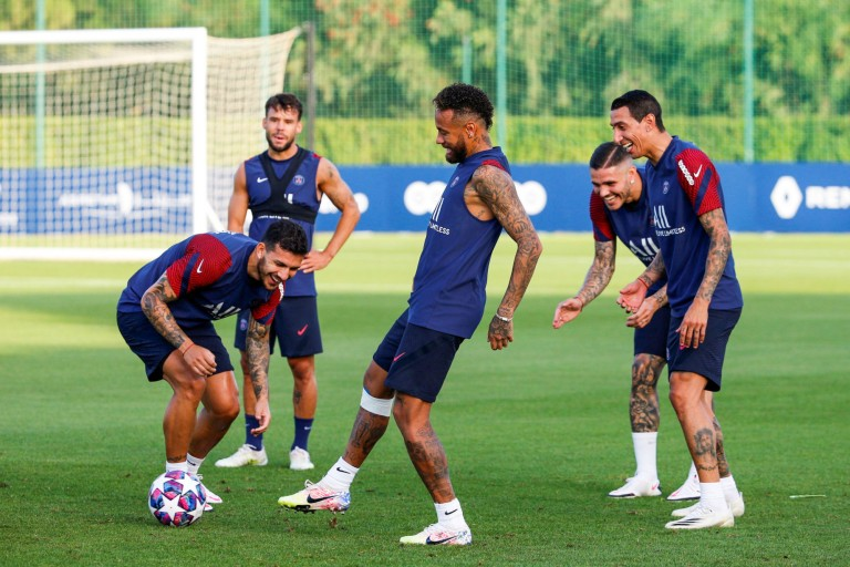 Neymar de retour avec le PSG