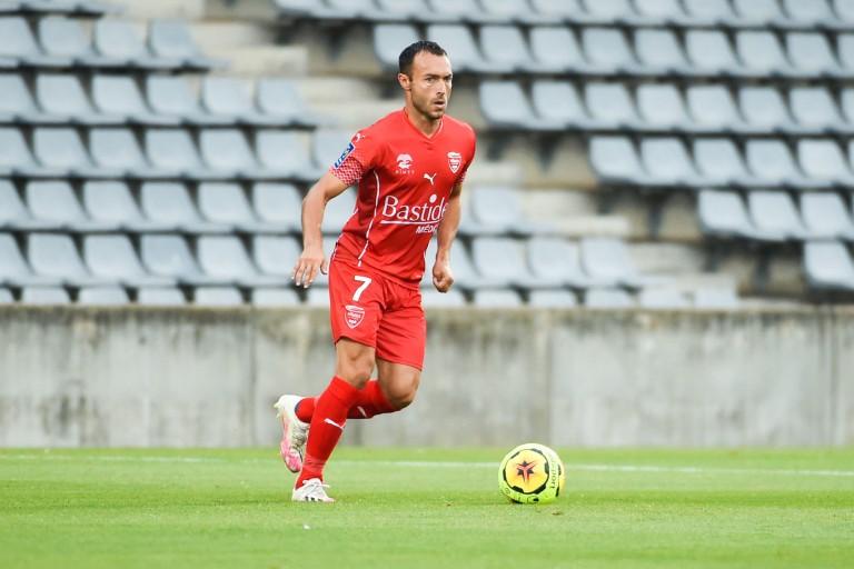 Romain Philippoteaux, milieu de terrain recruté par le Stade Brestois