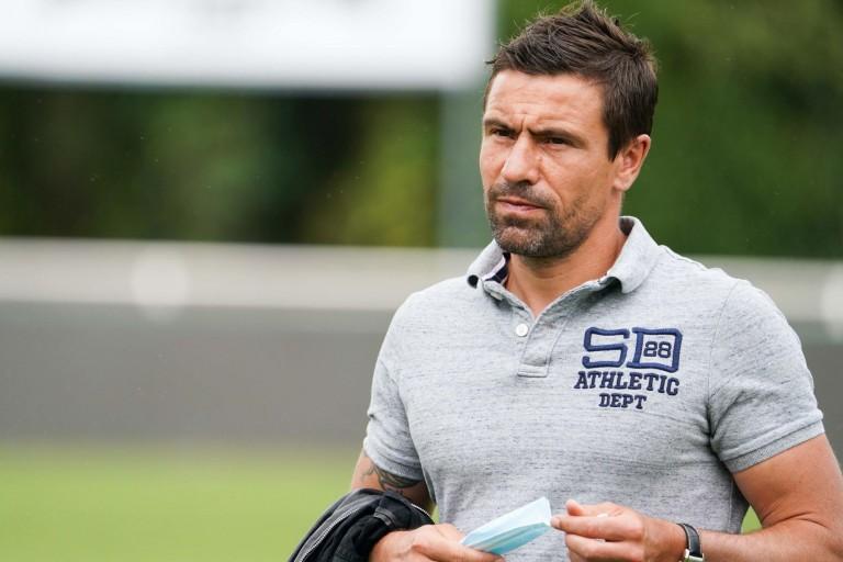 Sébastien Larcier, directeur sportif d'Angers SCO