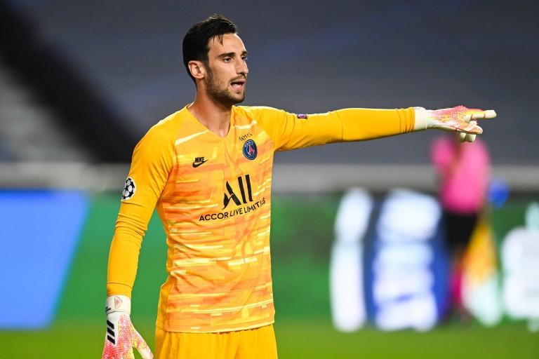 Sergio Rico, gardien de but du PSG jusqu'en 2024
