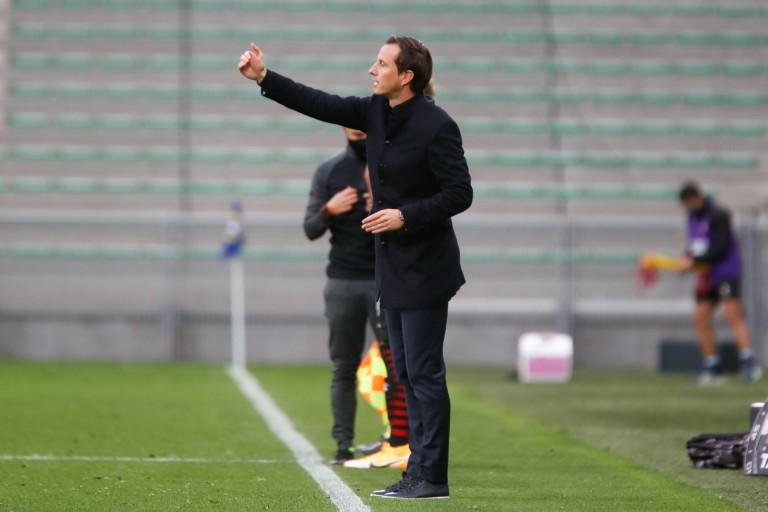 Julien Stéphan, entraîneur du Stade Rennais FC