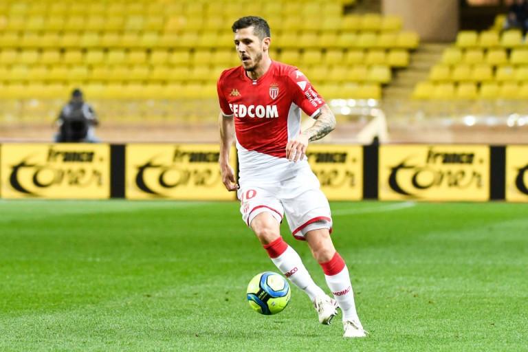 Stevan Jovetic, attaquant de l'AS Monaco lorgné par l'OL
