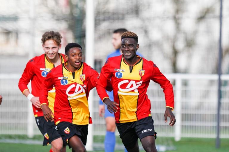 RC Lens et Stade de Reims, Ansou Sow celebre son but