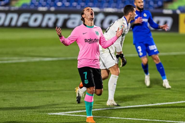 L'avenir d'Antoine Griezmann au FC Barcelone est en suspens.