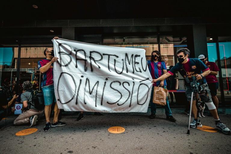 FC Barcelone : Bartomeu et son staff sur le départ ce lundi ?