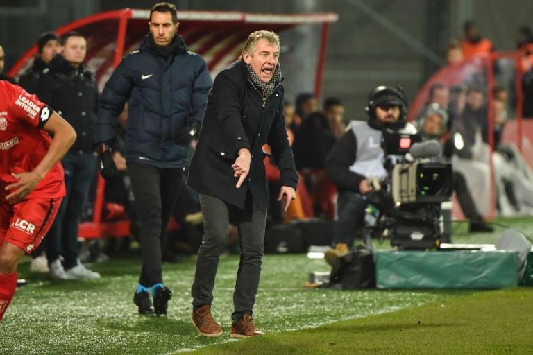 Christian Gourcuff, entraîneur du FC Nantes