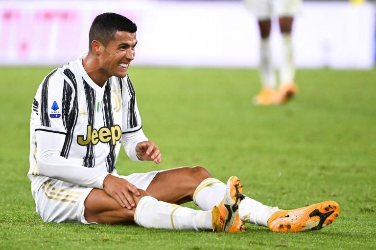 Cristiano Ronaldo est mécontent de son test PCR, qui le prive d'un Juventus - FC Barcelone.