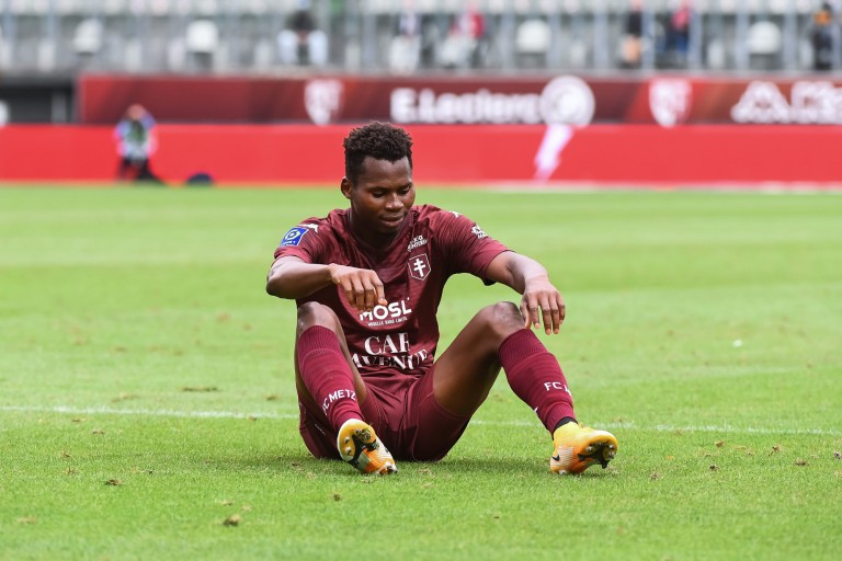 FC Metz : Habib Diallo se dit heureux d'avoir rejoint le RC Strasbourg