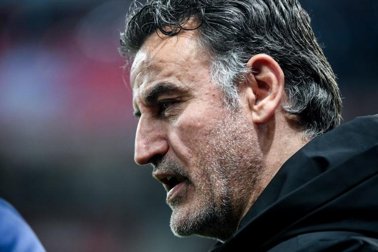 Christophe Galtier, entraîneur du LOSC