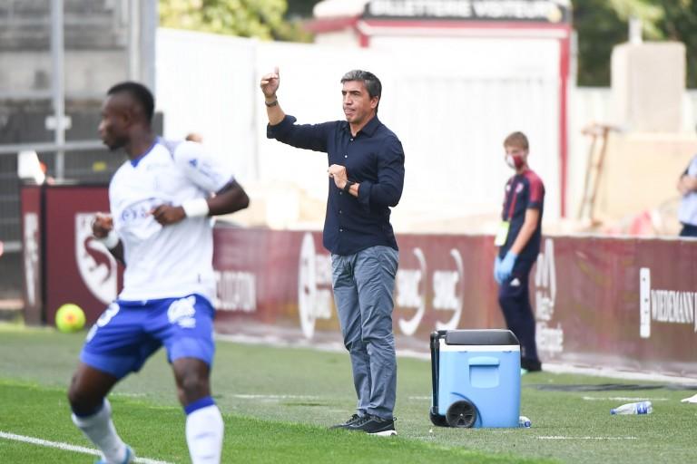 David Guion, entraîneur du Stade de Reims