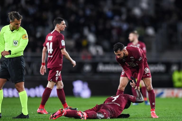 Nouveau coup dur pour le FC Metz avec la blessure d'un cadre.