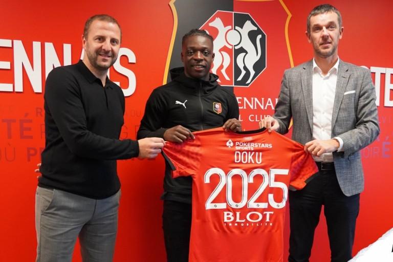 Mercato Stade rennais : Jérémy Doku signe au SRFC