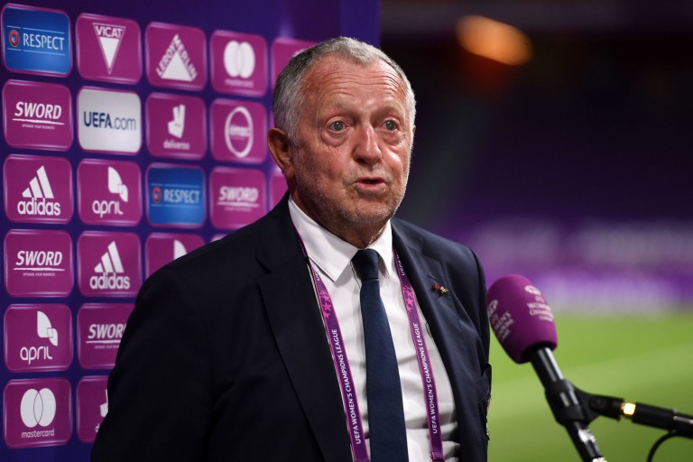 Jean-Michel Aulas, le président de l'OL