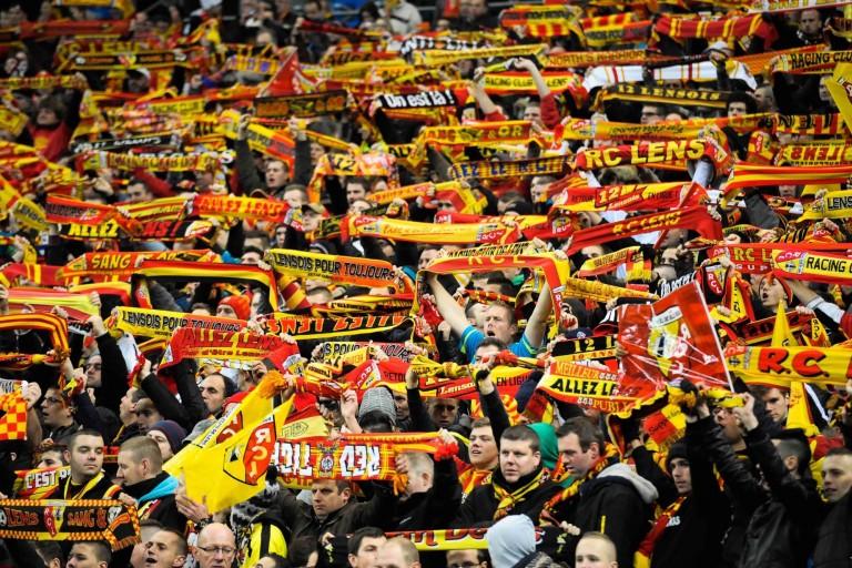 Nando de Colo fait partie des milliers de supporters du RC Lens.