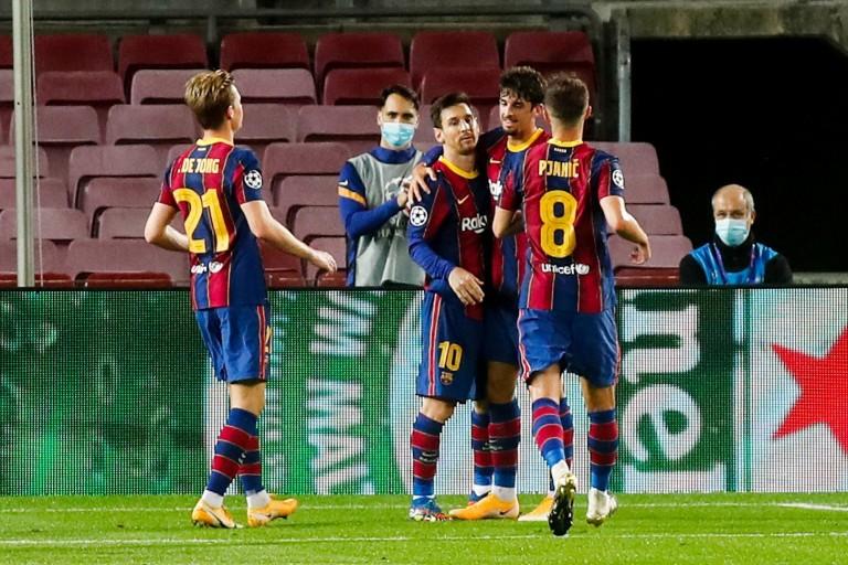 Lionel Messi encore buteur avec le Barça