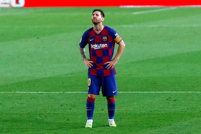 Lionel Messi sommé d'aller à la fin de son contrat avant de quitter le FC Barcelone