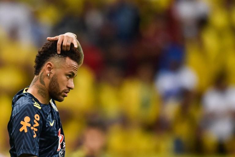 Neymar Jr touché au dos en sélection