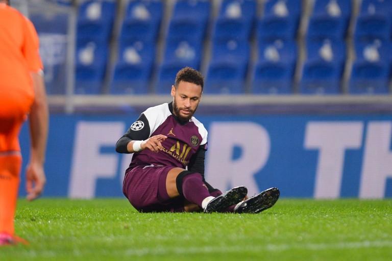 Neymar Jr blessé contre Istanbul Basaksehir
