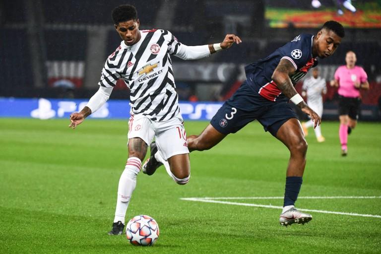 Marcus Rashford adulé par la presse anglaise pour son but contre le PSG.
