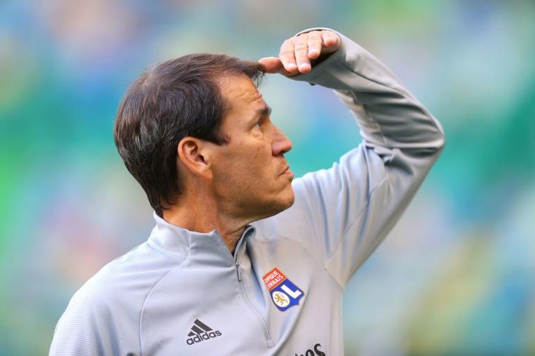 Le coach de l'OL, Rudi Garcia, promet de tacler son homologue du FC Barcelone.