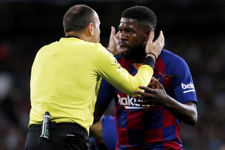 OL : Samuel Umtiti n'avait aucune intention de quitter le FC Barcelone cet été