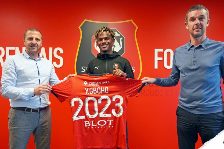 Stade rennais Mercato : Yann Gboho a prolongé au SRFC
