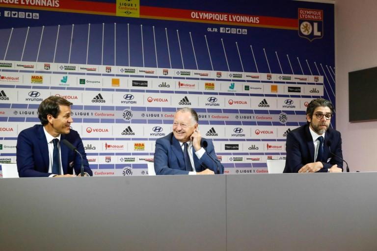 OL : Aulas assure que la décision de prolonger ou pas Rudi Garcia appartient à Juninho.