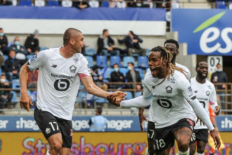 Le LOSC avec Burak Yilmaz contre l'AC Milan