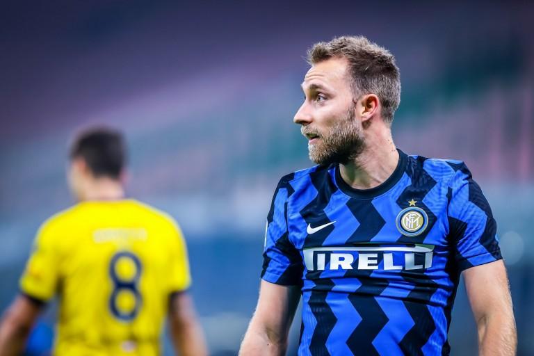 Christian Eriksen, milieu de terrain de l'Inter, proche du PSG.
