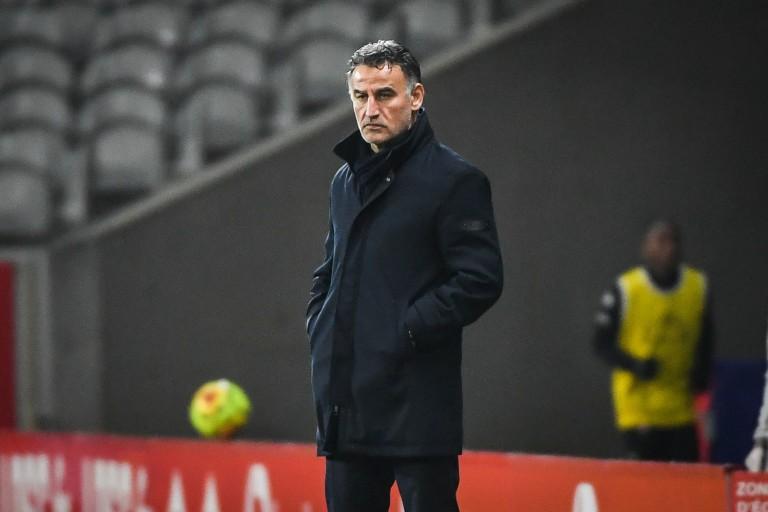 Christophe Galtier, coach du LOSC.