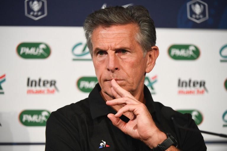 Claude Puel , entraîneur et manager général de l'ASSE.