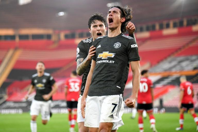 Cavani auteur de doublé avec Manchester United