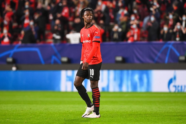 Stade Rennais : Eduardo Camavinga évasif sur une prolongation.