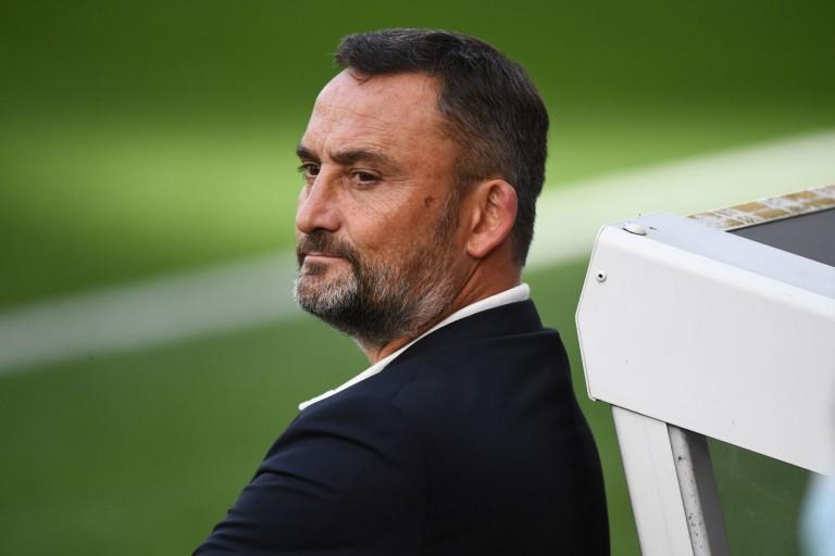 Franck Haise, entraîneur du RC Lens, attend le FC Nantes de pied ferme.