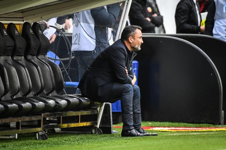 Franck Haise, entraineur du RC Lens.