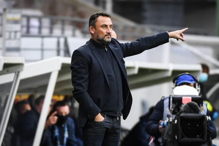 Franck Haise, coach du RC Lens.