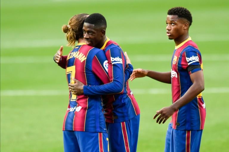 Dembélé sur la sellette au Barça