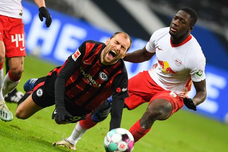 Ibrahima Konaté du RB Leipzig  prêt  pour les duels contre le PSG.